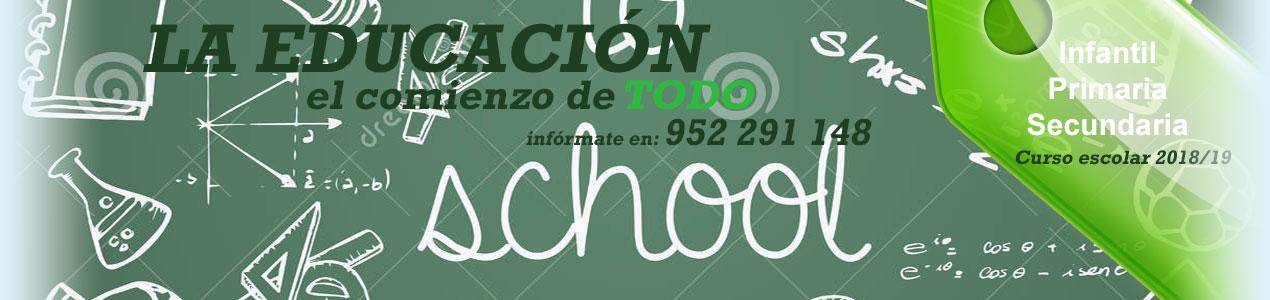 Matriculación Colegio Platero